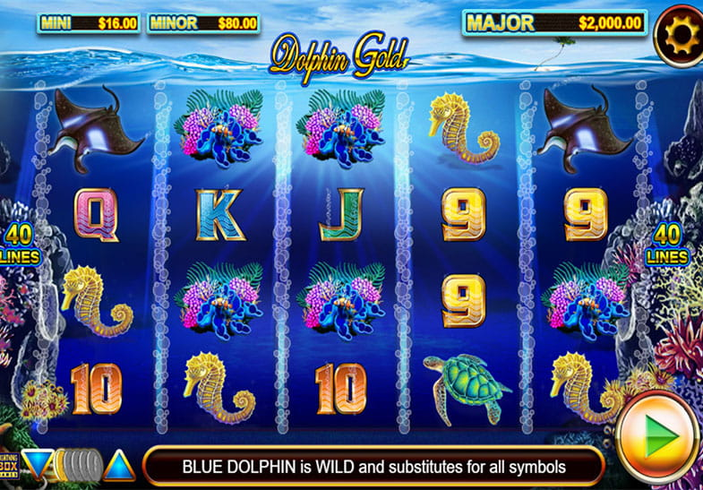 Free Demo of Dolphin Gold with Stellar Jackpot